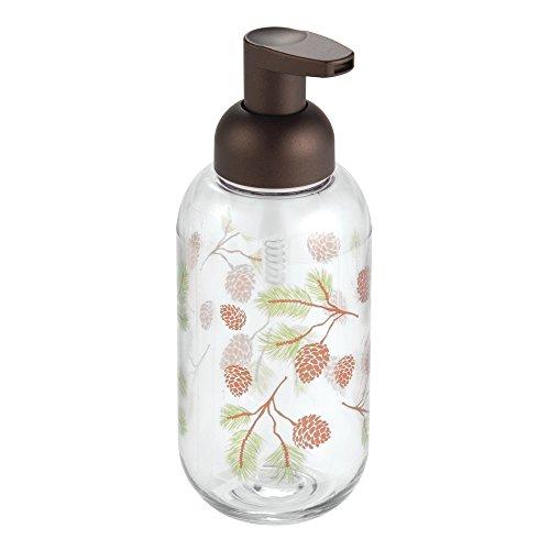 InterDesign Pinecone Dispenser Bathroom Vanities