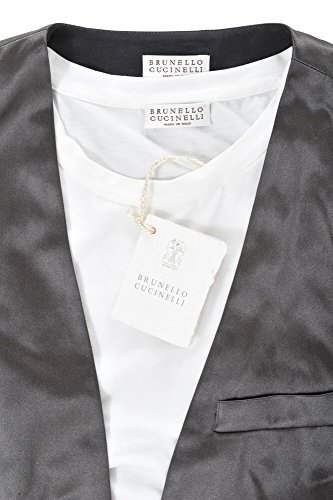 Cotton Fit Cucinelli Femme Pull S Blanc Slim Casual Brunello aZXOYxqO