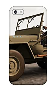 Iphone Case - Tpu Case Protective For Iphone 5/5s- 1945 Jeep Willys Mb