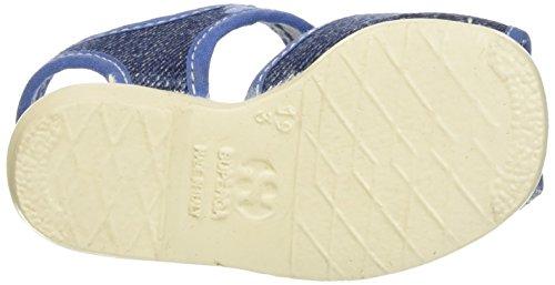 C50 jeans cotj Superga Abierto Sandalias De Azul Talón Niñas 1200 Para zRSq6w4