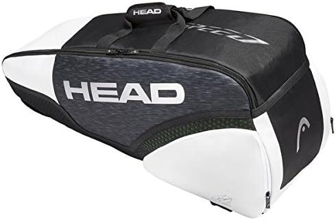 283029 T.U. HEAD Djokovic 6R Combi PORTARACCHETTE Varie Mod