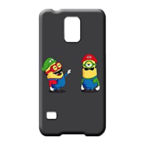 samsung galaxy s5 cases Customized stylish phone carrying case cover Mario Luigi Minions