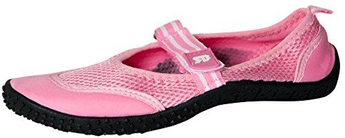 Starbay Der Bucht-Frauen-Beleg auf athletischen Aqua-Socken-Wasser-Schuhen 2910 Rosa