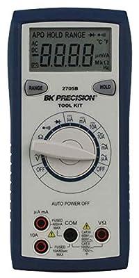 B&K Precision 2705B Auto Ranging Tool Kit DMM