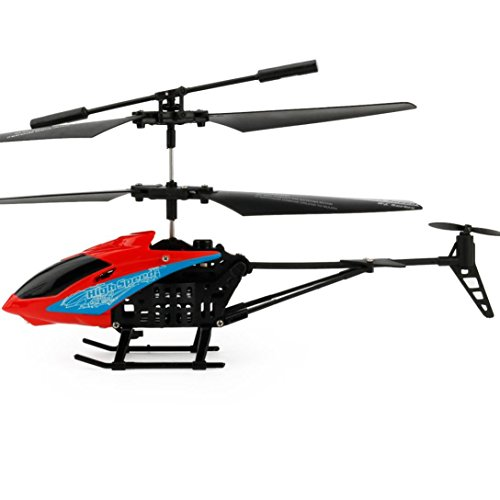 For Christmas,Sunfei JX-807 RC 2CH Mini Quadcopter Helicopter Micro Radio Remote Control Aircraft (Red)