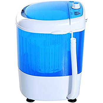 compact portable washing machine laundry washer electric dryer dorm apartment. Black Bedroom Furniture Sets. Home Design Ideas