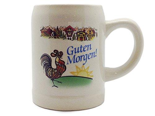 """ Guten Morgen"" German Saying Ceramic Coffee Mug by E.H.G | 12oz"