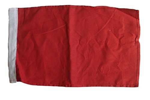 RED Flag - The Flags of Nascar - Racing Flag -Race -100% Cotton - 14