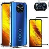 Capinha Xiaomi Poco X3 Pro PRO 256gb 8gb RAM (6.67) + Película 3d + Película Câmera - (C7COMPANY)