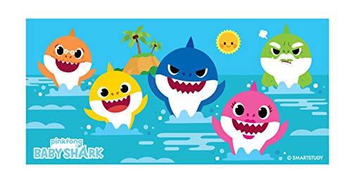 Baby Shark Beach Towel 28 in x 58 in