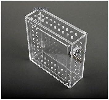 Faberplast Caja Seguridad Termostatos, Metacrilato, 17.5x17.5x6 cm ...