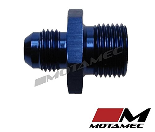 Motamec un 6/ An6/ Jic au M18/ x 1,5/ Filetage m/étrique Alliage Fitting Adapter
