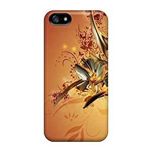 CVY4342Grln Case For Iphone 5/5S Cover Case Sculpture Abstract
