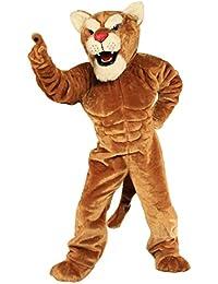 Power Cat Cougar Mascot Costume