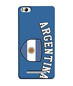 ColorKing Football Argentina 13 Blue shell case cover for Xiaomi Redmi 4A