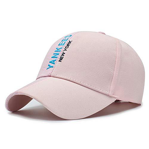 XIAOMAOMAO Baseball Cap Male Summer Lady Sun Hat Hard Top Cotton Embroidery Sun Hat