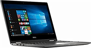 "Dell Inspiron 2-in-1 13.3"" FHD Touch-Screen 2018 Newest Laptop Computer, AMD Ryzen 7 Up to 3.8GHz, 16GB DDR4, 512GB SSD, Vega 10, Bluetooth, Wi-Fi, HDMI, Webcam, Windows 10, Era Gray"