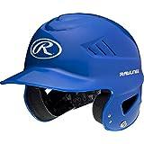 Rawlings Coolflo Molded Baseball Batting Helmet, Royal, One Size