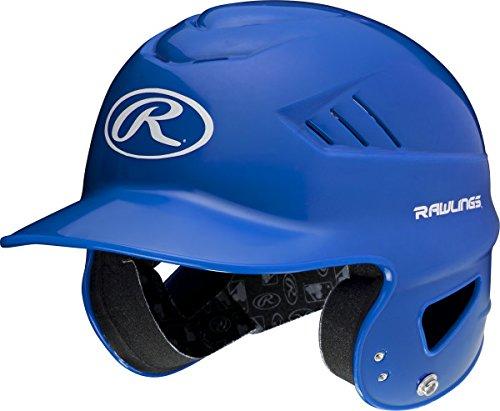 (Rawlings Sporting Goods Coolflo Molded Baseball Batting Helmet, Royal, One Size )