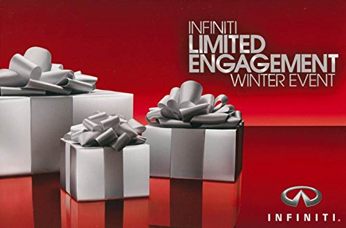 2008 Infiniti Limited Engagement Winter Event Large Factory Postcard from Infiniti