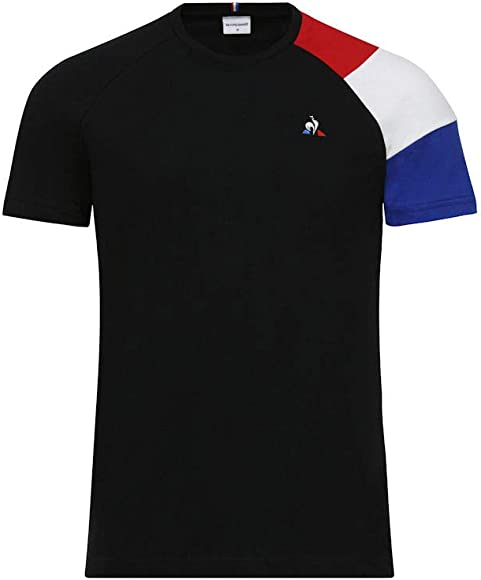 ca899014aa Le Coq Sportif Mens Short Sleeve Tricolour T-Shirt - Amazon Mỹ | Fado.vn