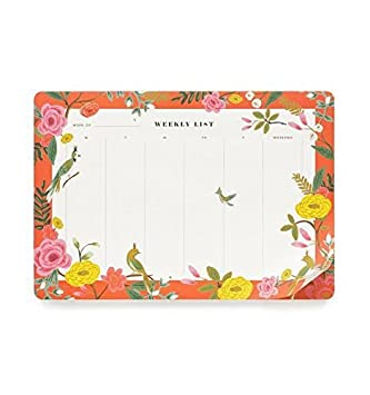 Rifle Paper Co. Shanghai Garden Weekly Planner Desk Pad Mouse Pad