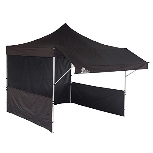 trailer awnings canopy up tent sidewalls with pop awning