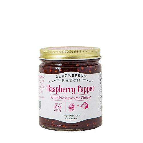Blackberry Natural (Raspberry Pepper Fruit Preserves - Blackberry Patch All Natural Fruit Preserves Spread for Cheese 10 oz Jar (Raspberry Pepper))
