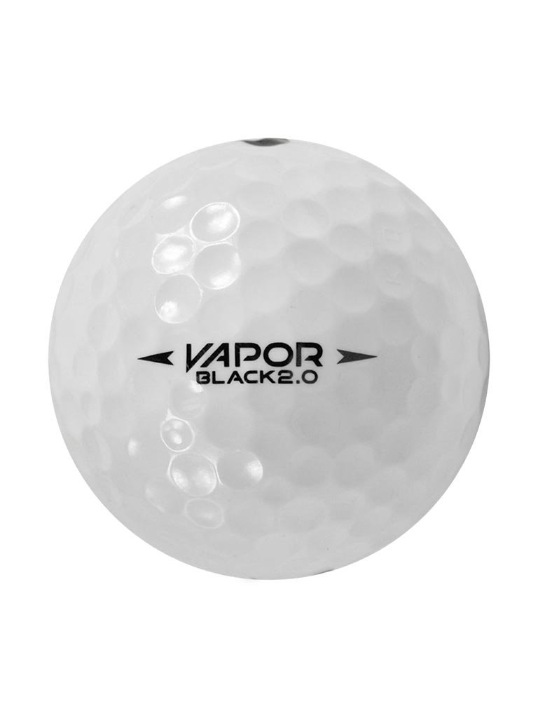 120 Nike One Vapor Black Mix - Near Mint (AAAA) Grade - Recycled (Used) Golf Balls