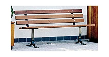 Astounding Amazon Com Leisure Craft Wooden Bench W Back Outdoor Ibusinesslaw Wood Chair Design Ideas Ibusinesslaworg