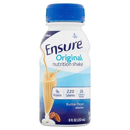 Ensure Original Nutrition Shake, Butter Pecan, 8 Ounces, 12 Count ()