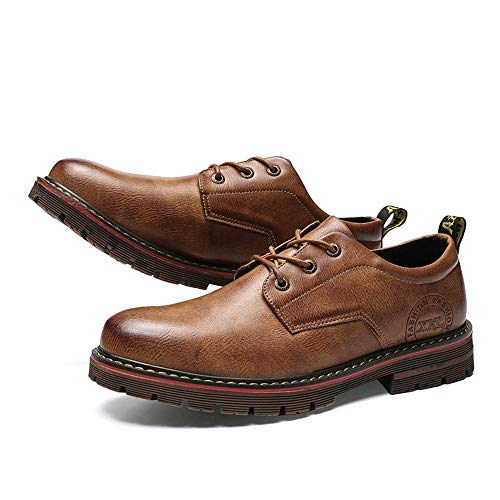 Dimensione casual inverno New Oxford Nero Earthy lavoro Retro Scarpa formali di Martin Color aziendale Scarpe EU autunno Light da Yellow 42 Calzature per Ofgcfbvxd uomo il Art vwpqB5