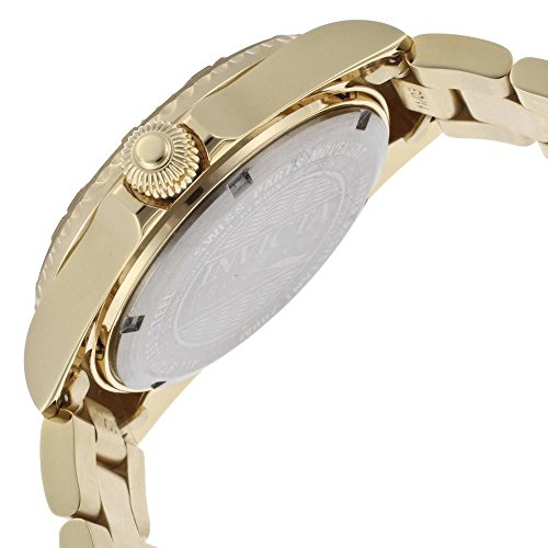 Invicta Women's 15249 Pro Diver 18k Yellow Gold Ion-Plated Stainless Steel Watch