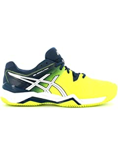 8ef978675fc Asics - Gel-Resolution 6 Clay men's tennis shoes (blue/yellow ...