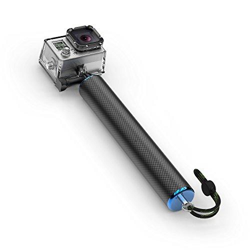 Sinnofoto f1 70 %カーボンファイバーフローティング一脚7 9  ポータブルSelfie Sticks ForここGoPro 1 2 3 3 + 4 5カメラアクションカメラwith 1 / 4  スクリュー&レンチ(用途水泳ダイビングBest Choice )