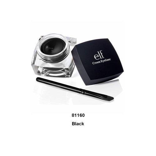 (E.l.f. Studio Cream Eyeliner (Black) elf - 3 Pack Value)