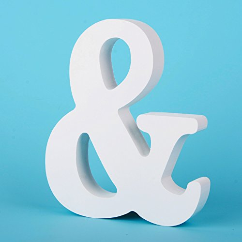 Takefuns Large Wall Letters Marquee Alphabet Decorative Wood Letters Hanging Wall 26 Letters Diy Block Words Sign for Children Baby Name Girls Bedroom Wedding Birthday Party Home Dcor,Letter &