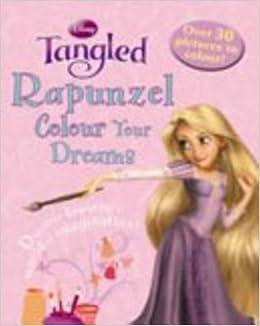 disney colouring rapunzel disney tangled colouring book paperback 1 jan 2011 - Tangled Coloring Book