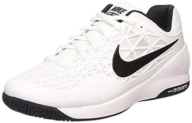 21f2c4bbeb2 Nike Zoom Cage 2 - Zapatillas de Tenis de cuero hombre  Amazon.es  Zapatos  y complementos