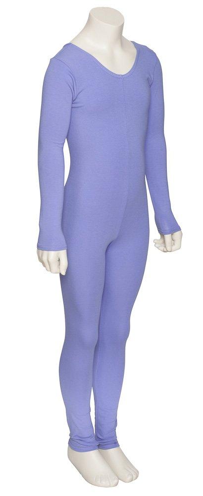 All Colours Ladies Girls Cotton Footless Ballet Dance Gymnastics Long Sleeve Unitard Catsuit KDC057 By Katz Dancewear