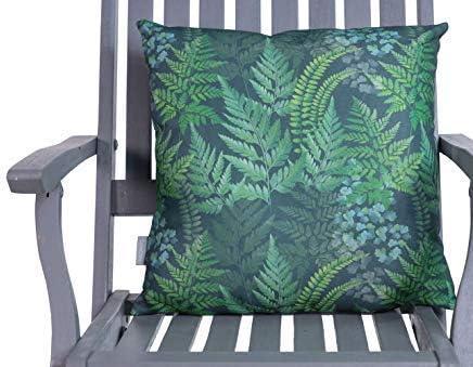 Celina Digby Coussin de jardin imperm/éable imperm/éable et r/ésistant aux intemp/éries Motif foug/ères vertes 45 x 45 cm