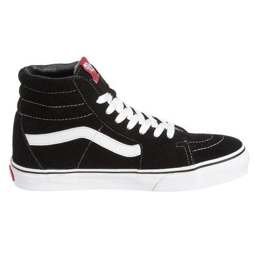 Vans Sk8 Hi Skate Shoe Nero / Bianco (11)
