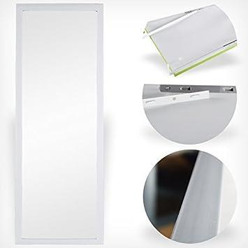 Türspiegel Tür Spiegel Hängespiegel Rahmenspiegel 35x95cm schwarz