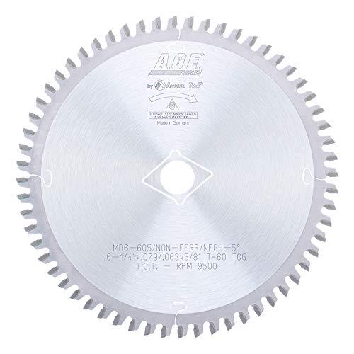 Disco Sierra AMANA No ferroso 6 1/4 X 60T 5 / 8Bor (MD6 60