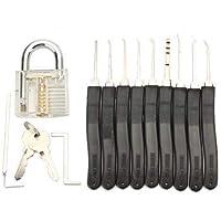 11-Piece Lock Pick Set with Hardware Tools