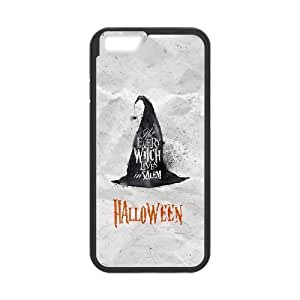 iPhone 6 4.7 Inch Cell Phone Case Black Halloween Witch Hat U8R0IU