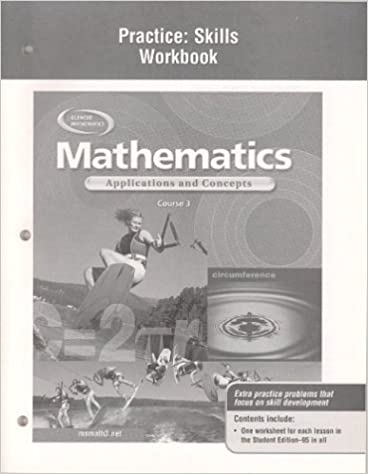 Mathematics Applications And Concepts Course 3 Practice
