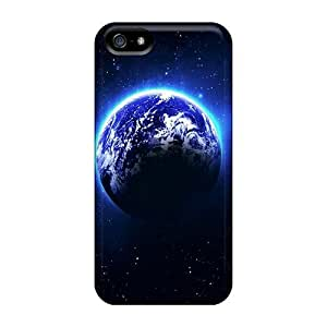 Awesome ELr3972CByx BretPrice Defender Tpu Hard Case Cover For Iphone 5/5s- Earth