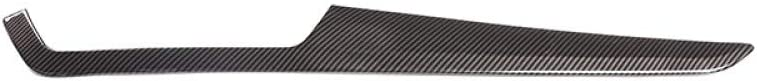 MYlnb For Mercedes Benz C Class W204 C180 C200 2010-2013,Carbon Fiber Style ABS Car Center Console Decoration Panel Cover Trim RHD
