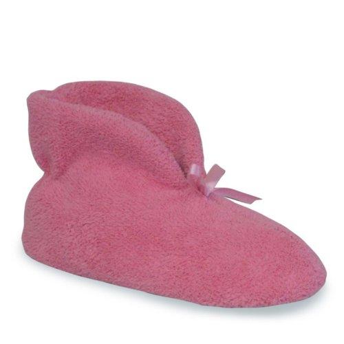 LUKS Women's Slipper MUK Micro Pink Chenille Satin pxvqZdR